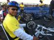 Carlos Evans Received Hand Cycle from SWEAT for a VET 2010